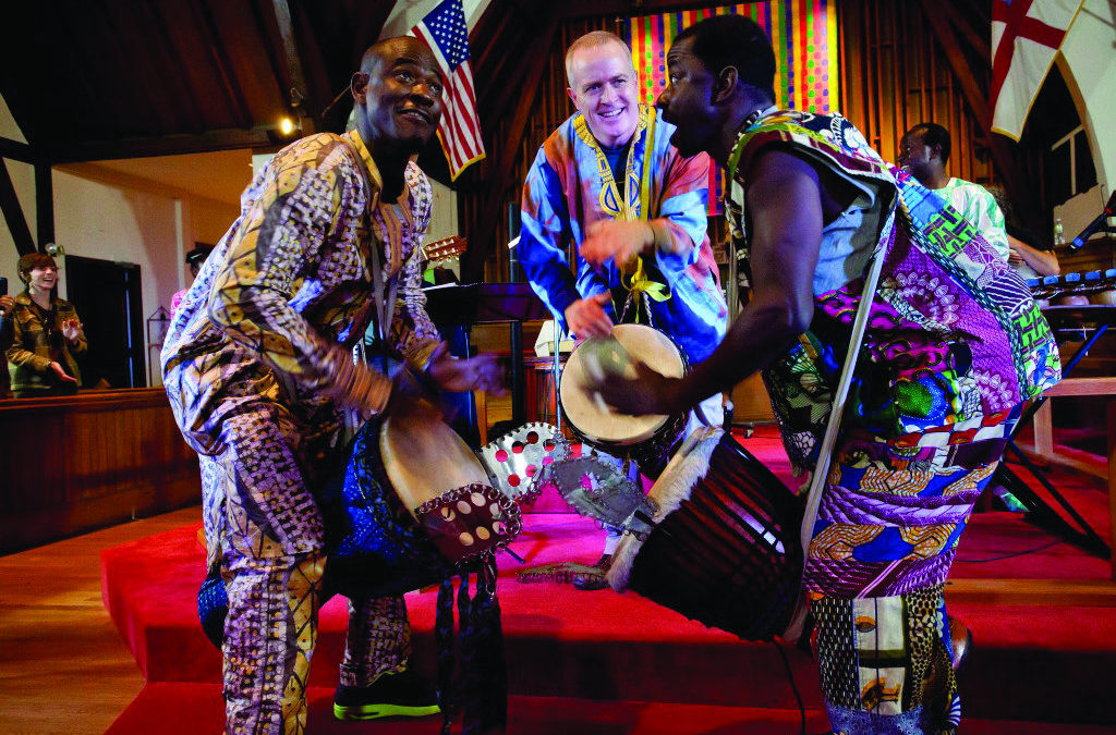 In Natick, Musician Shares Passion for African Drumming